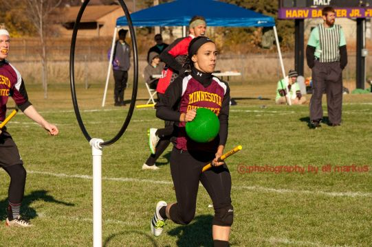 Minnesota Quidditch beater Nadja Melby