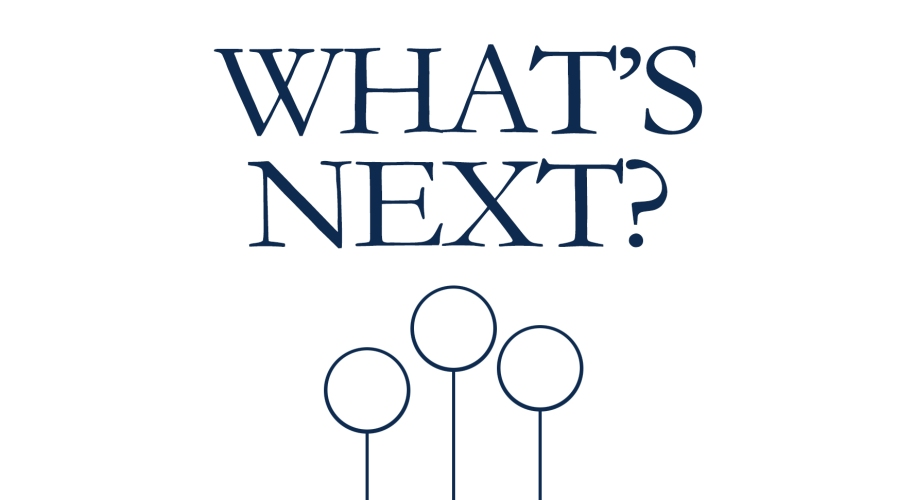 What's Next logo wide