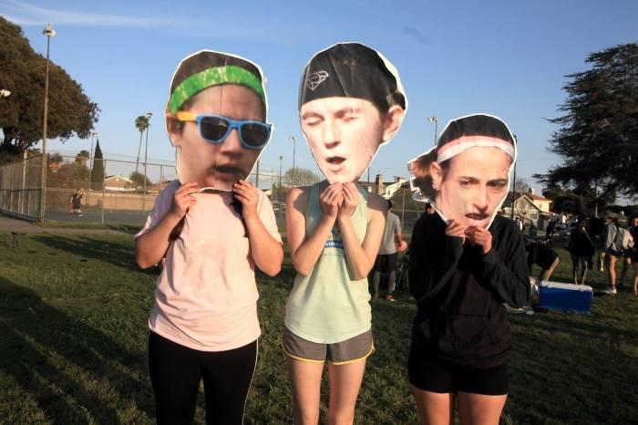 The ladies of Long Beach