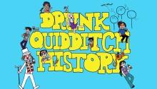 Drunk Quidditch History logo