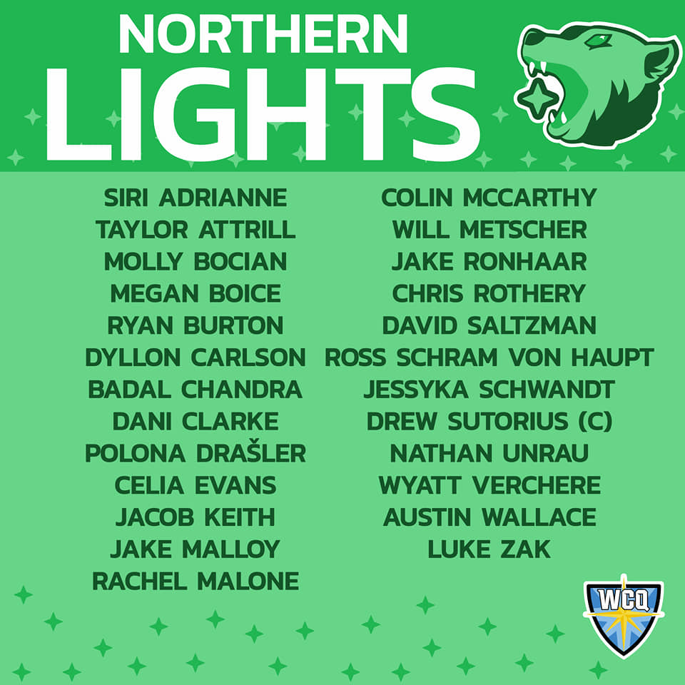 Northern Lights Roster